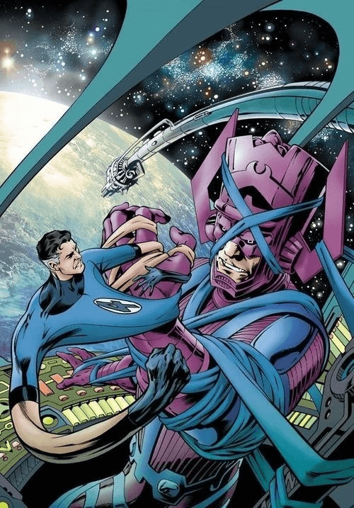 Hồ Sơ Nhân Vật Galactus – Kẻ ăn hành tinh - galactus va reed richard -