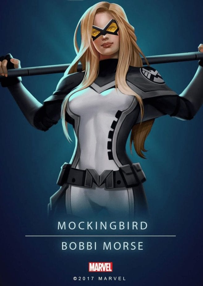 "Hồ Sơ Nhân Vật Mockingbird  – Barbara ""Bobbi"" Morselà ai ? - mockingbird barbara bobbi morse la ai nhan vat marvel 9495 -"