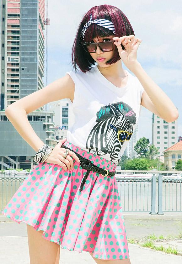Hồ sơ nhân vật - Tiểu sử Á hậu quốc tế Phạm Hồng Thúy Vân - pham hong thuy van model xinh xan cua miss teen 2012 3041 -