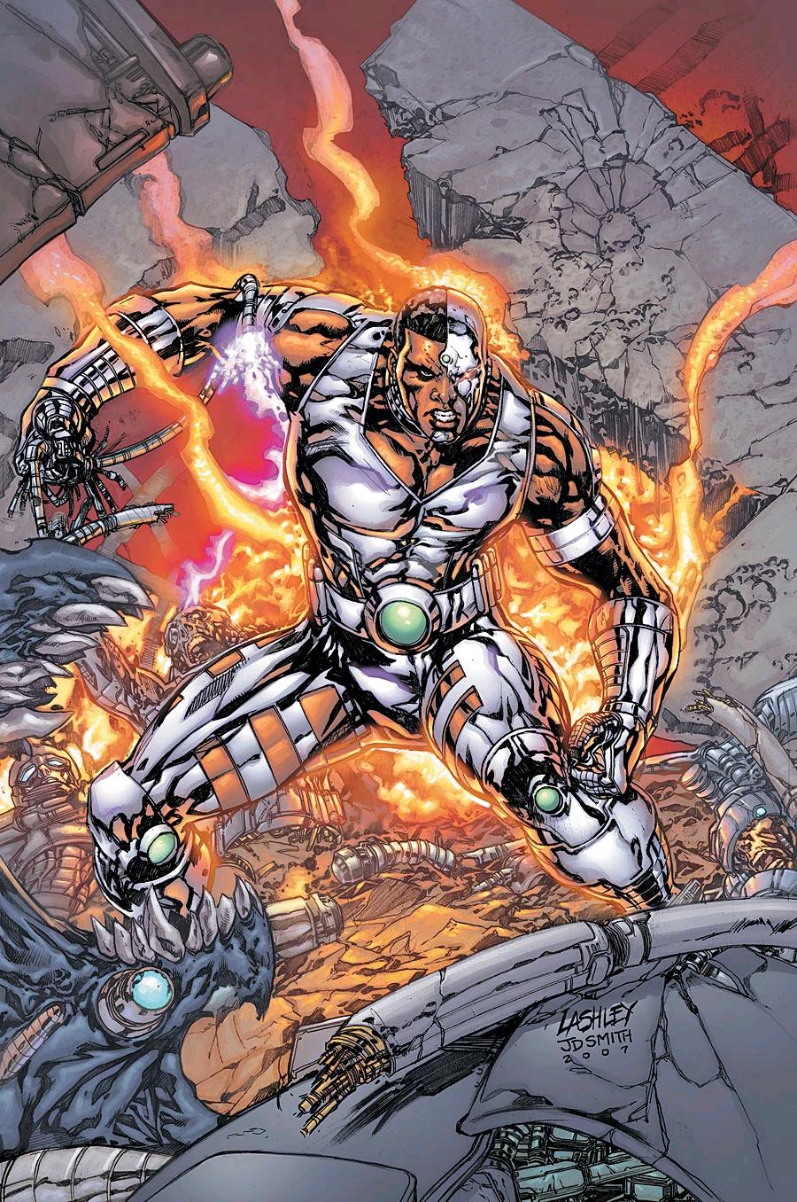 """Hồ Sơ Nhân Vật Cyborg – Victor """"Vic"""" Stone - cyborg victor vic stone nhan vat dc 3607 -"""